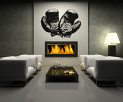 Vinyl Wall Decal Sticker Antique Boxing Gloves #OS_AA682