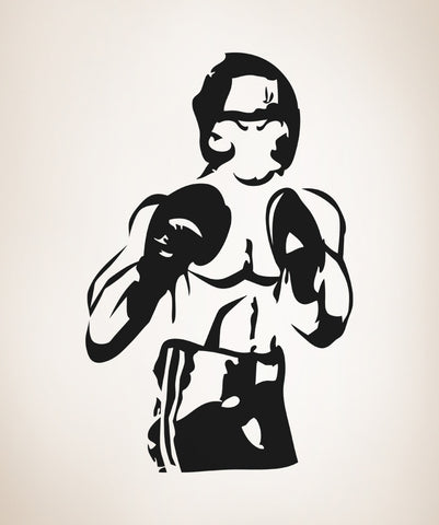Vinyl Wall Decal Sticker Boxer #OS_AA683