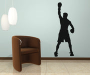 Vinyl Wall Decal Sticker Boxing Champion #OS_AA684