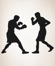 Boxing Match Wall Decal Sticker Gym Decor #OS_AA685