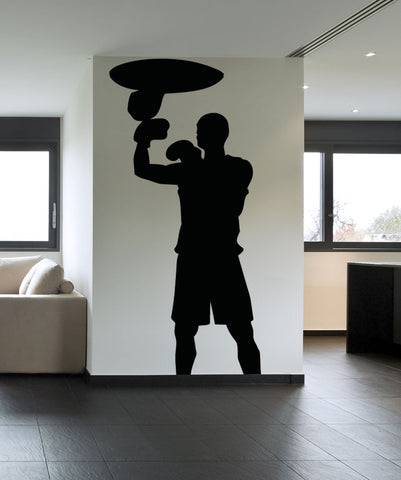 Vinyl Wall Decal Sticker Speed Bag #OS_AA688