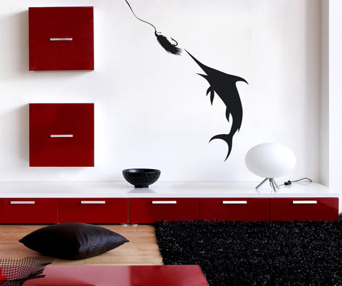 Vinyl Wall Decal Sticker Taking the Bait #OS_AA711
