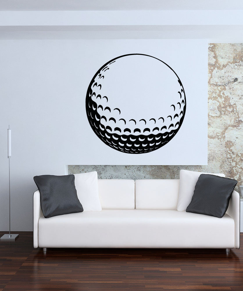 Vinyl wall decal sticker golf ball osaa715 amipublicfo Gallery