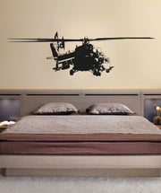 Vinyl Wall Decal Sticker Military Helicopter #OS_AA719