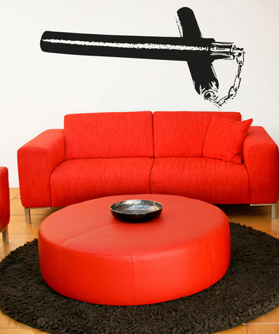 Vinyl Wall Decal Sticker Nunchucks #OS_AA730