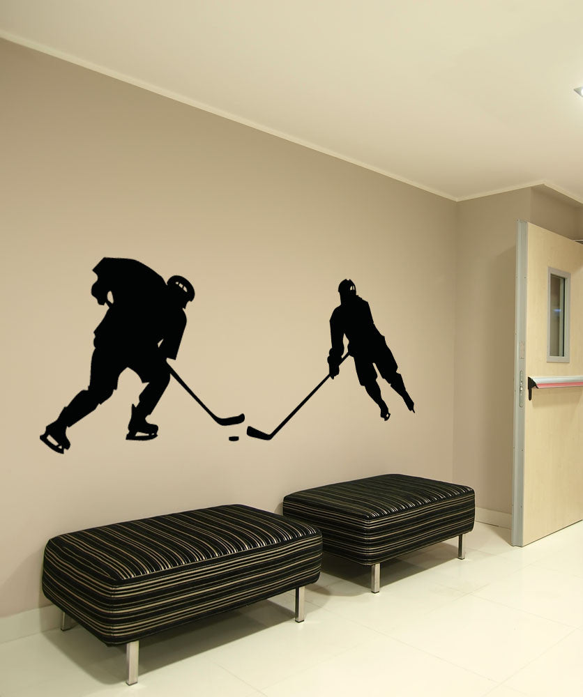 Vinyl Wall Decal Sticker Hockey Game #OS_AA725