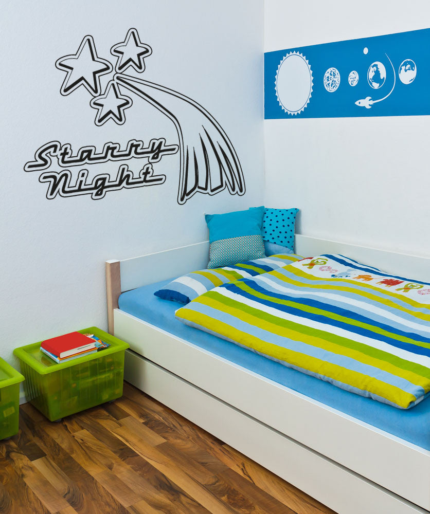 Vinyl Wall Decal Sticker Starry Night #OS_AA804