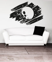 Vinyl Wall Decal Sticker Moon Design #OS_AA811
