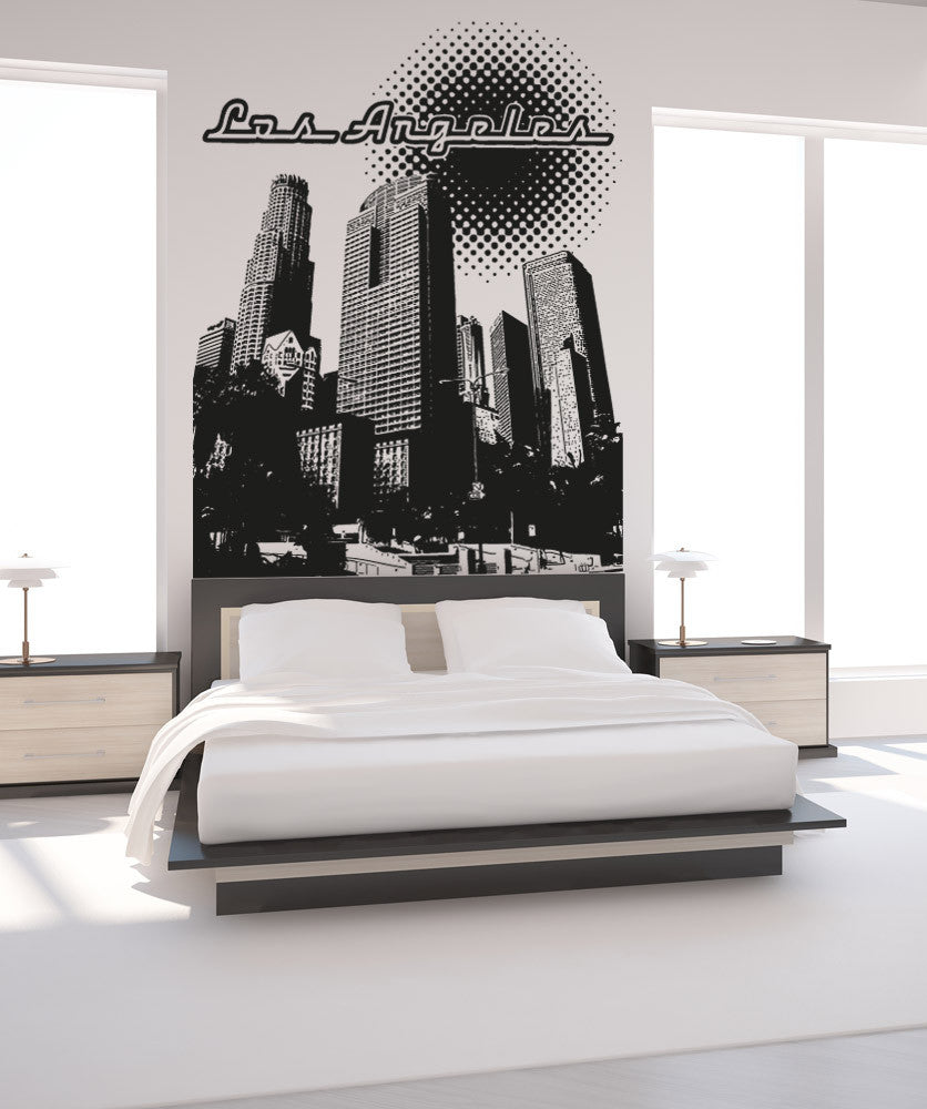 Vinyl Wall Decal Sticker Los Angeles #OS_AA901