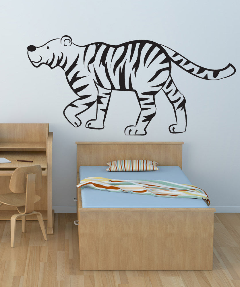 Vinyl Wall Decal Sticker Kids Tiger #OS_DC117