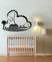 Vinyl Wall Decal Sticker Dino Love #OS_DC135
