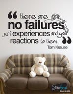 Vinyl Wall Decal Sticker Failure Quote #OS_DC338
