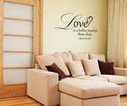 Vinyl Wall Decal Sticker Einstein Love Quote #OS_DC507