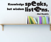 Vinyl Wall Decal Sticker Jimi Hendrix Quote #OS_DC513