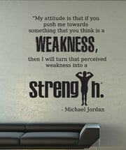 Vinyl Wall Decal Sticker Michael Jordan Quote #OS_DC525