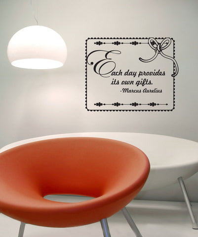 Vinyl Wall Decal Sticker Marcus Aurelius Quote #OS_DC526