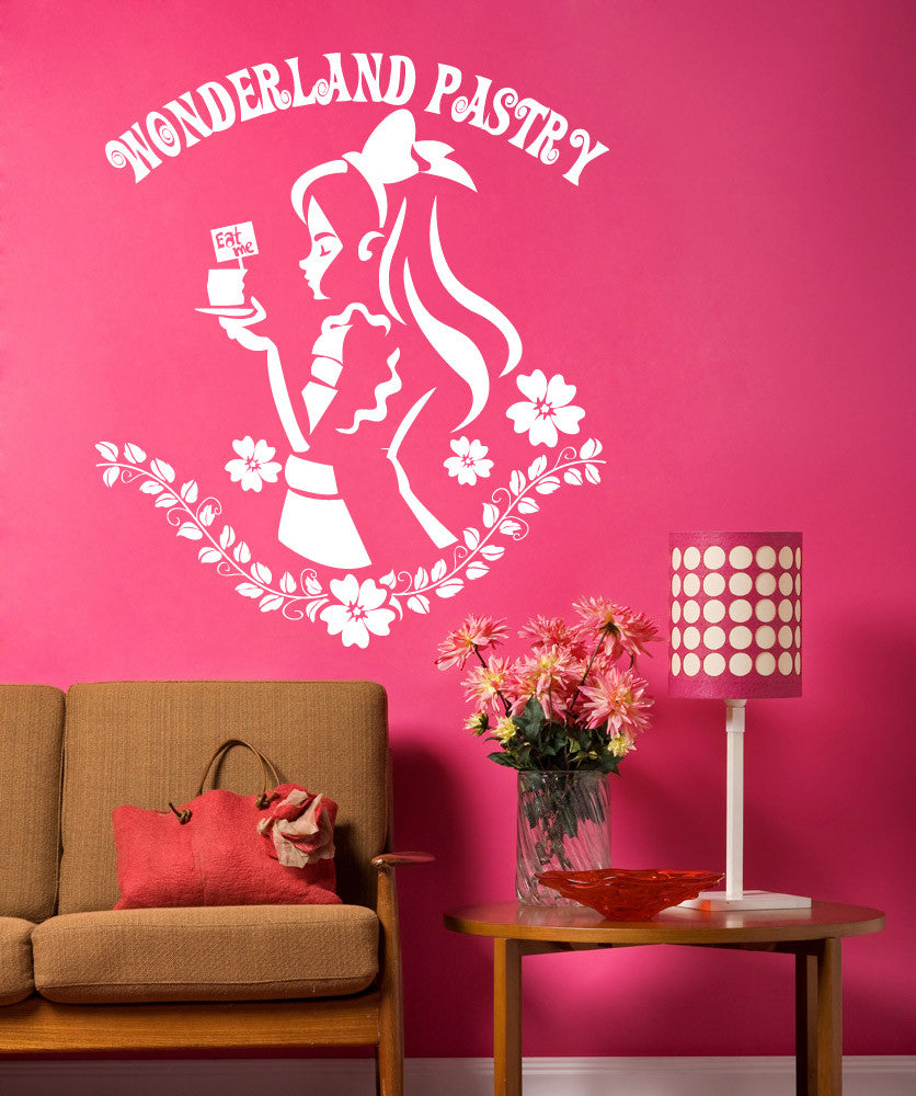 Vinyl Wall Decal Sticker Wonderland Pastry #OS_DC612
