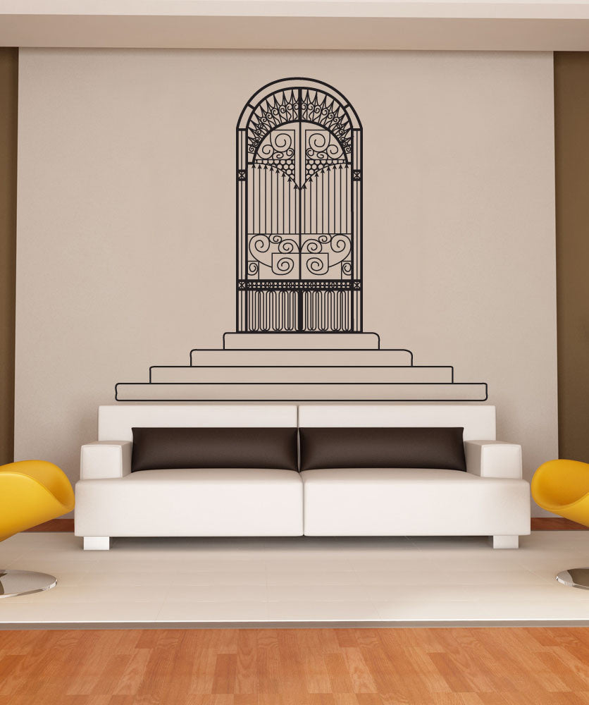 Vinyl Wall Decal Sticker Heavenly Gates #OS_DC640