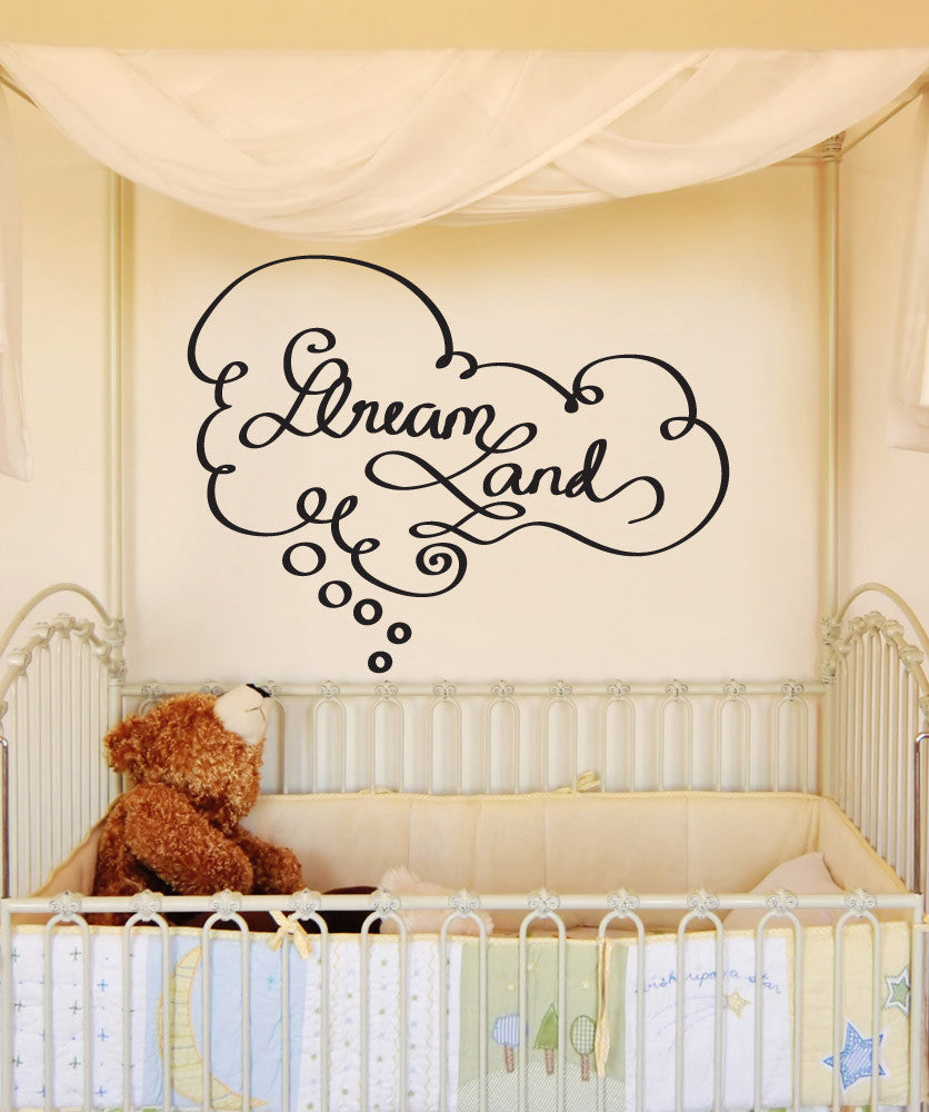 Vinyl Wall Decal Sticker Dreamland #OS_DC652