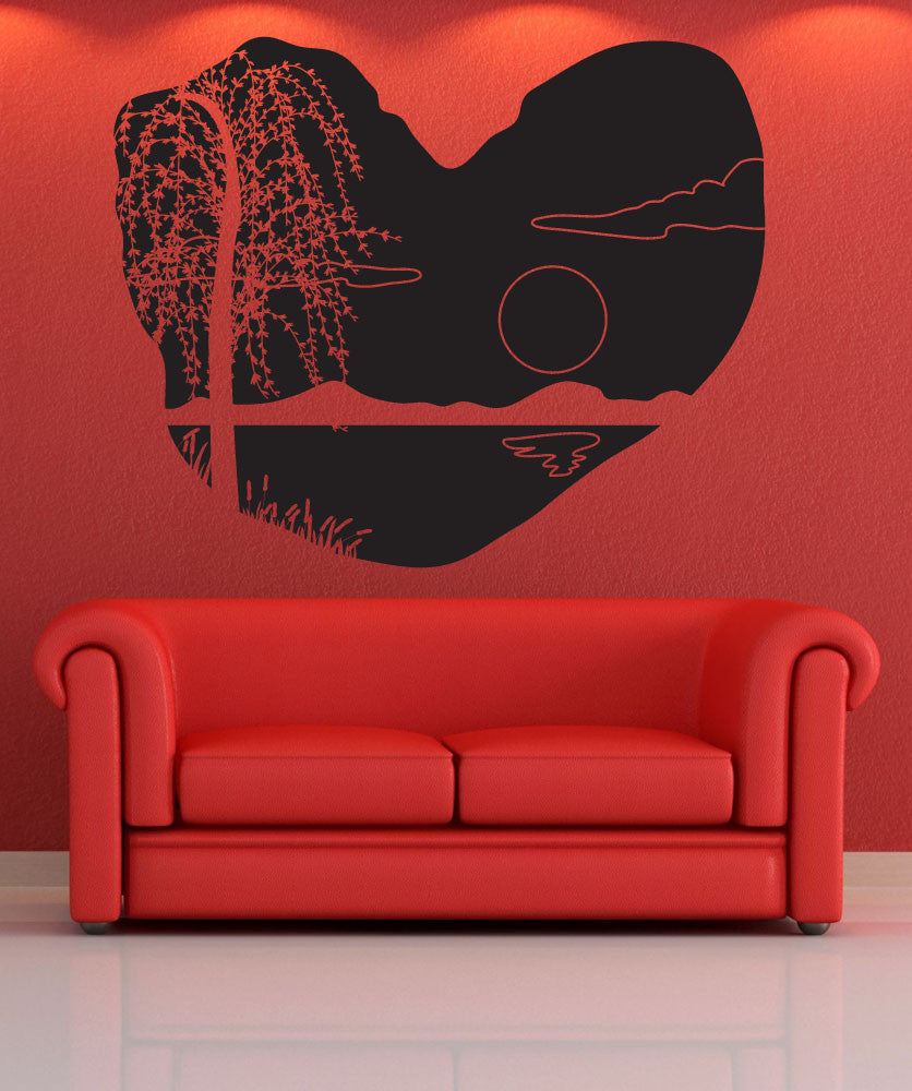 Vinyl Wall Decal Sticker Cave Sunset #OS_DC683