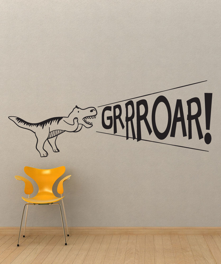 Vinyl Wall Decal Sticker Dinosaur Roar #OS_DC690
