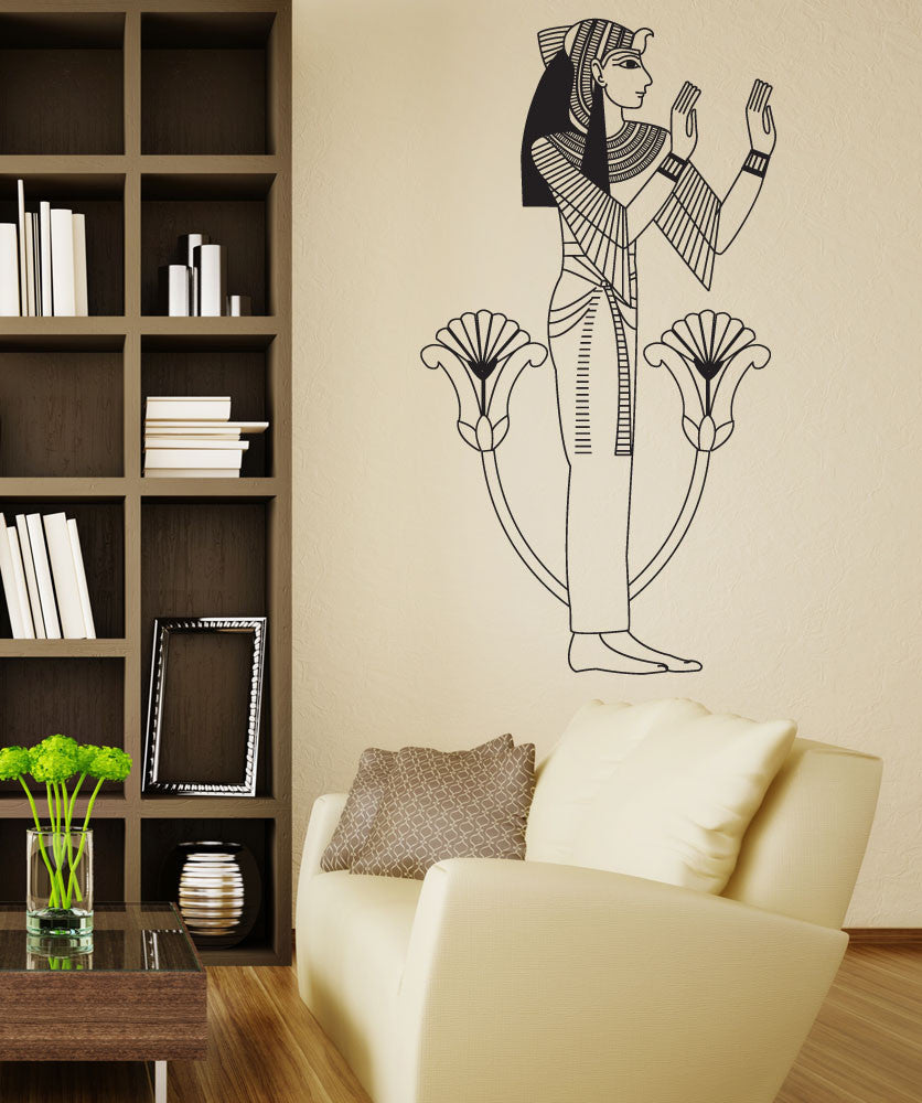 Vinyl Wall Decal Sticker Egyptian Woman #OS_DC696
