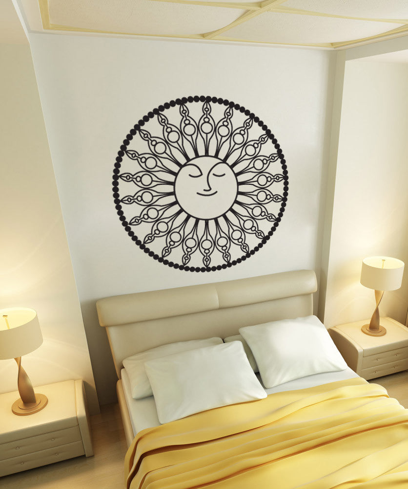 Vinyl Wall Decal Sticker Sun Decor #OS_DC754