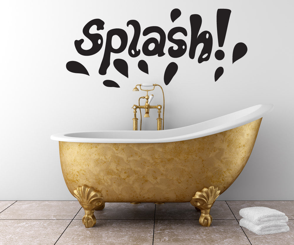 Vinyl Wall Decal Sticker Splash #OS_DC756