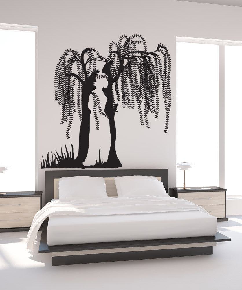 Vinyl wall decal sticker optical illusion tree osdc778 amipublicfo Choice Image