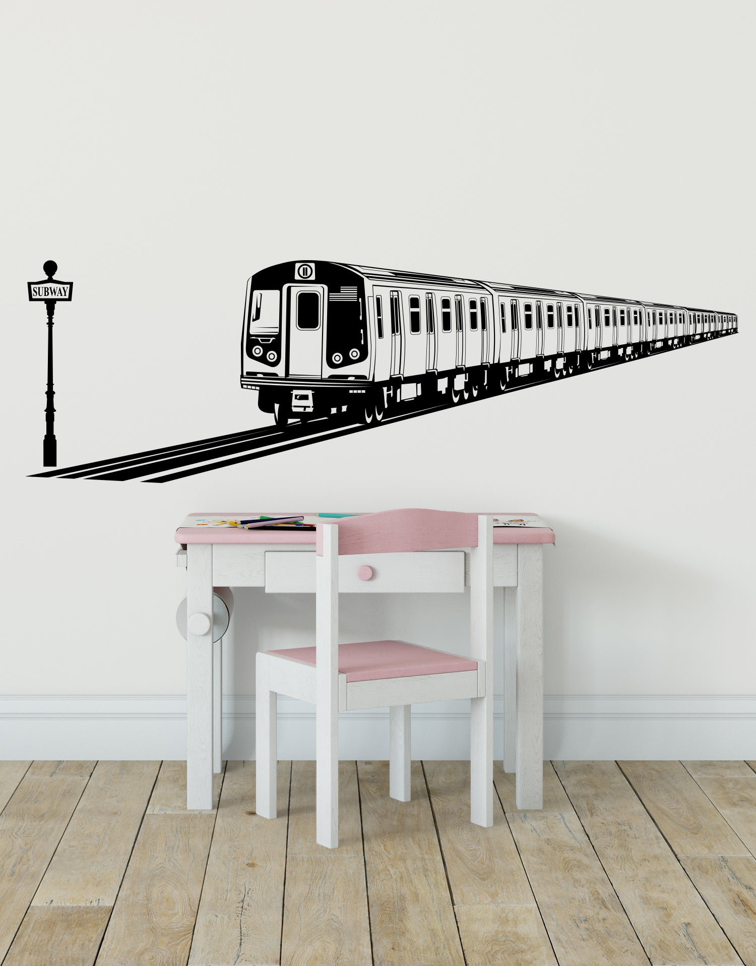 Nyc Subway Map Bedroom Wall Decal.Travel Wall Decals Removable Vinyl Wall Decals