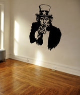 Vinyl Wall Decal Sticker Uncle Sam #OS_MB1000