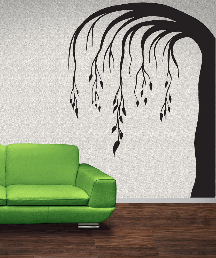 Vinyl Wall Decal Sticker Weeping Branches #OS_MB1047