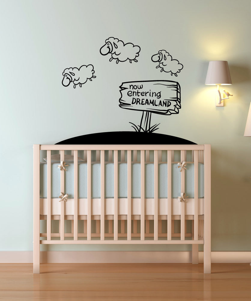 Vinyl Wall Decal Sticker Entering Dreamland #OS_MB1068
