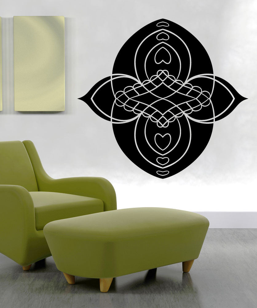 Vinyl Wall Decal Sticker Flower Wall Art #OS_MB1289