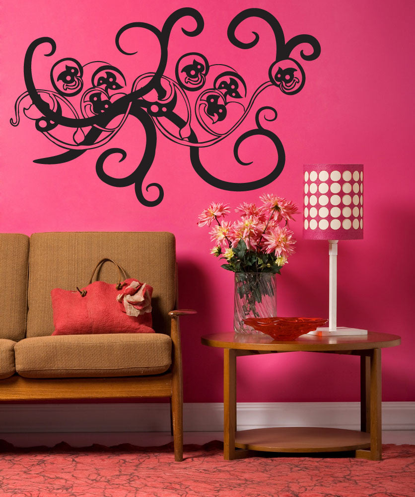 Vinyl Wall Decal Sticker Vine #OS_MB241