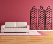 Vinyl Wall Decal Sticker Gothic Windows #OS_MB242