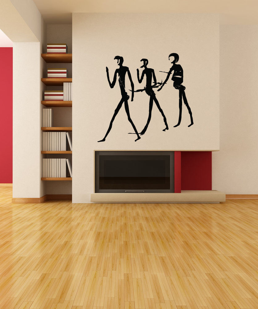 Vinyl Wall Decal Sticker Human Cave Painting #OS_MB248