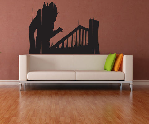Vinyl Wall Decal Sticker Vampire Silhouette #OS_MB268