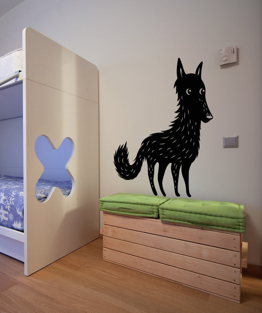 Vinyl Wall Decal Sticker Wolf Os Mb305