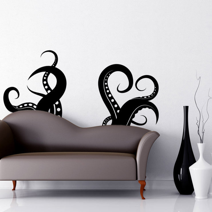 Vinyl Wall Decal Sticker Tentacles OSMB - Wall stickers decals