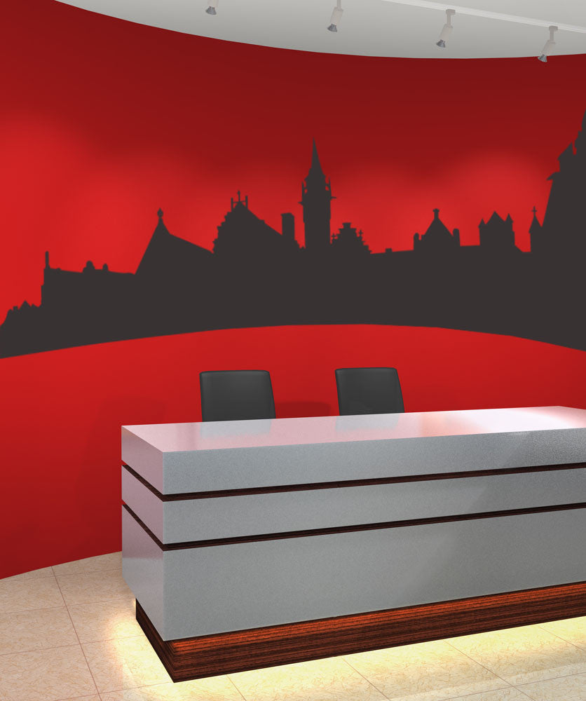 Vinyl Wall Decal Sticker Architecture #OS_MB371