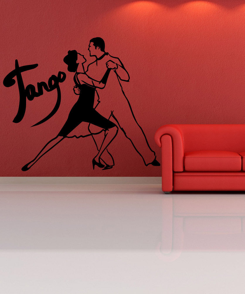 Vinyl Wall Decal Sticker Tango #OS_MB579