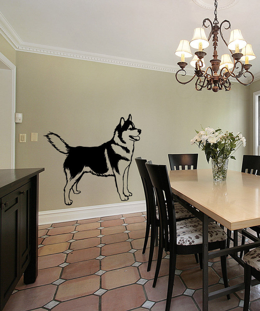 Vinyl Wall Decal Sticker Husky #OS_MB583s