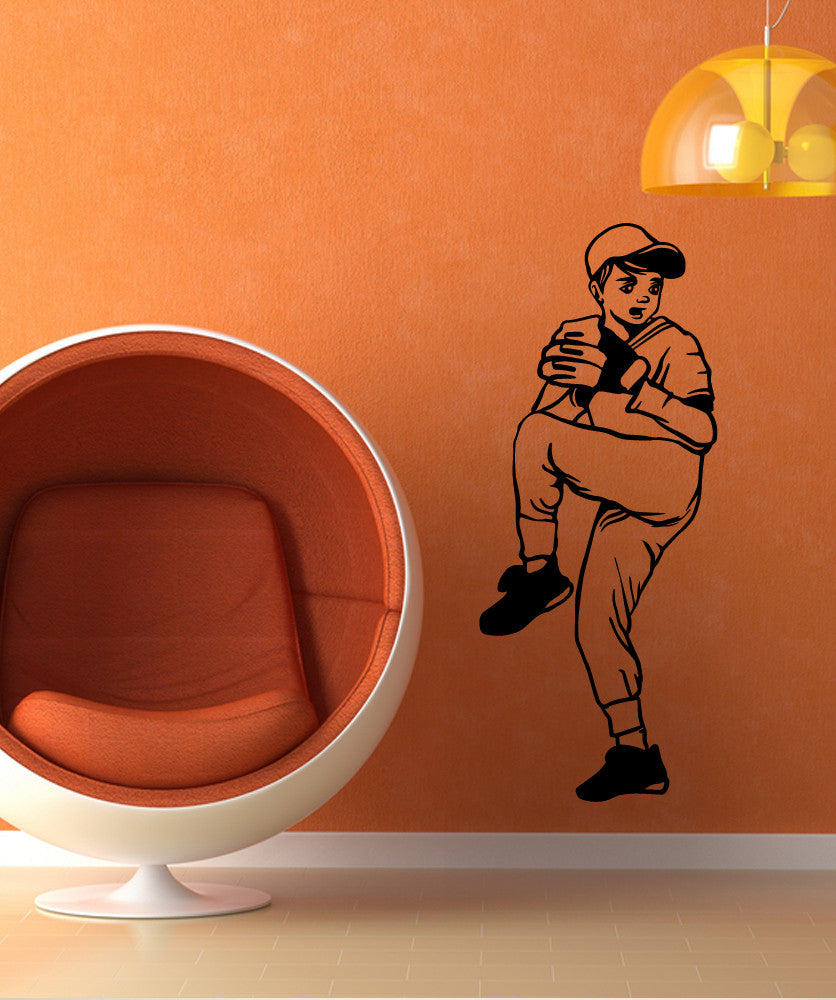 Vinyl Wall Decal Sticker Little League #OS_MB584