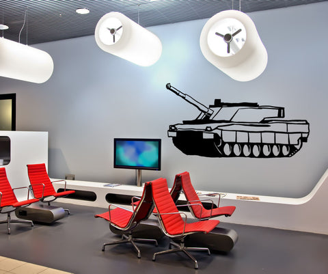 Vinyl Wall Decal Sticker Military Tank #OS_MB586