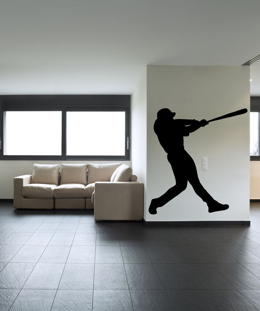 Vinyl Wall Decal Sticker Batter Up #OS_MB588