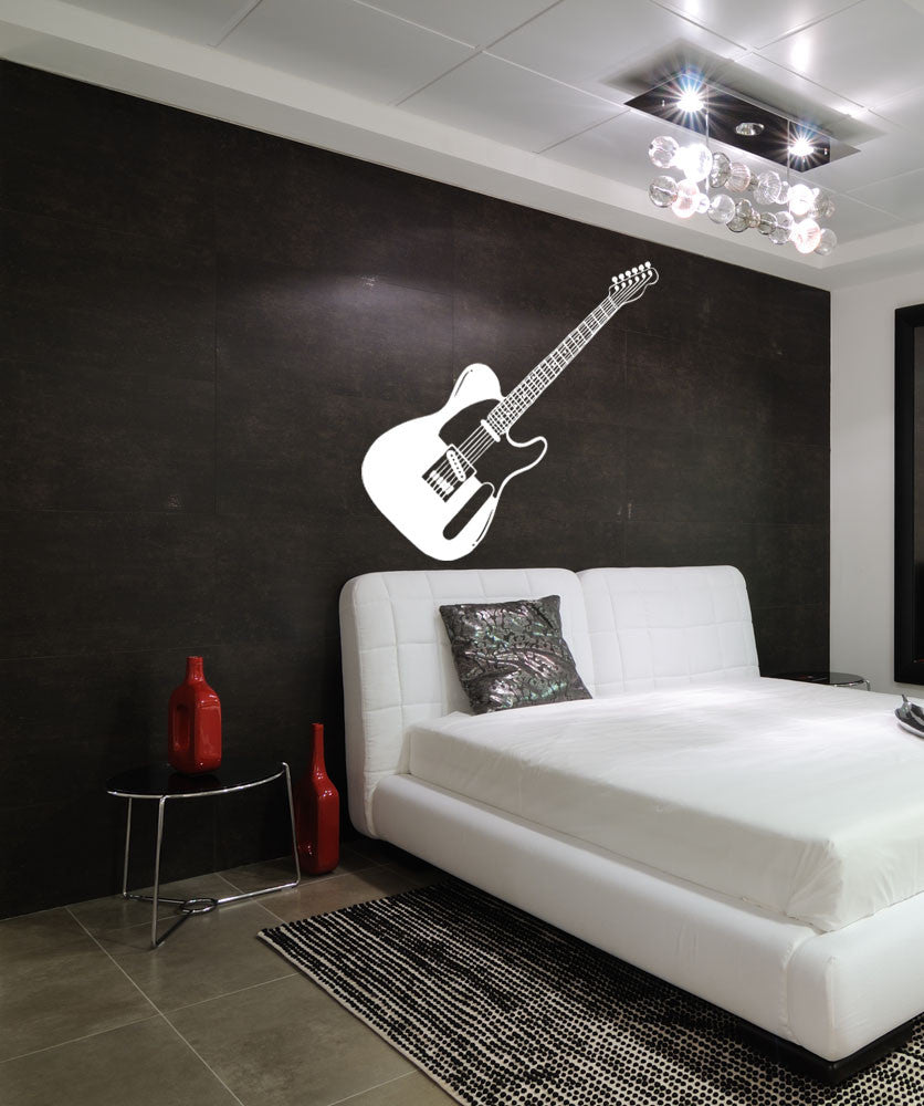Vinyl Wall Decal Sticker Guitar #OS_MB595