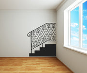 Vinyl Wall Decal Sticker Stairway Railing #OS_MB608
