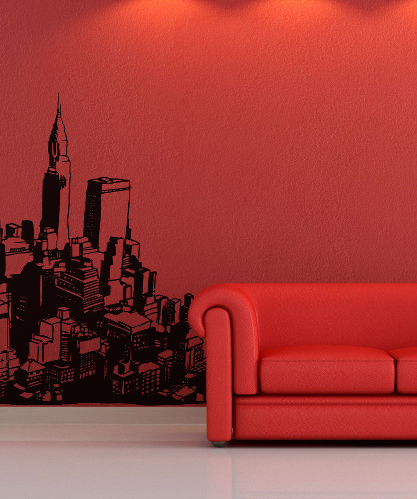Vinyl Wall Decal Sticker City #OS_MB612