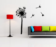 Dandelion Flower Flowing Away Vinyl Wall Decal Sticker. #OS_MB618